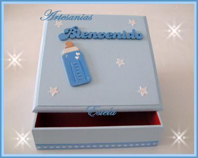Cajas artesanales para nacimientos