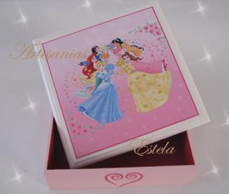 Souvenirs Para Cumpleaños Infantiles -Cajas Hadas - Souvenirs Hadas