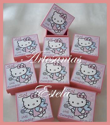 Souvenirs Para Cumpleaños Infantiles -Souvenirs Hadas Kitty
