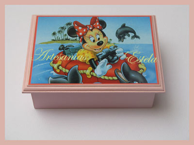 Cajas Artesanales Para Bombones - Decoradas Con Láminas Personalizadas