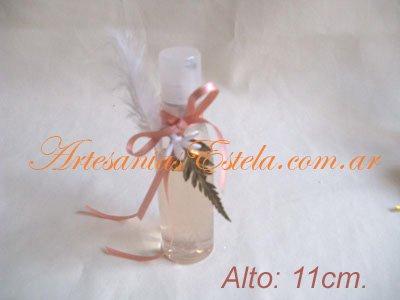 Souvenirs De 15 Años Perfumeros Personalizados