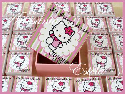Souvenirs Cajitas Personalizadas Kitty