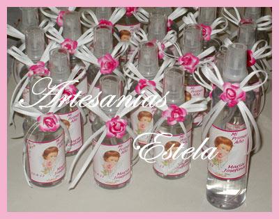 Souvenirs Perfumes personalizados Cumpleaños - Bautismos