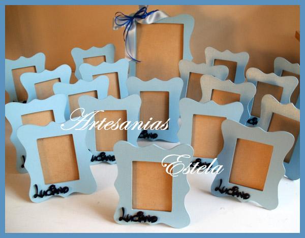Souvenirs Portaretratos con marco con onda   Souvenirs para Cumpleaños Infantiles