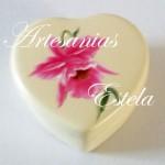 cajitas ceramica corazon 4 150x150   Cajas Para Bombones Corazón