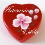 cajitas ceramica corazon 5 150x150   Cajas Para Bombones Corazón