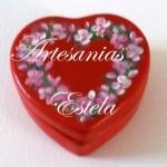 cajitas ceramica corazon 6 150x150   Cajas Para Bombones Corazón