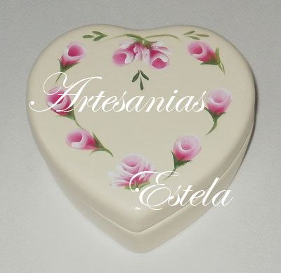 cajitas ceramica corazon 71   Souvenirs Para Casamientos   Bodas