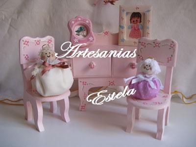 Souvenirs Cumpleaños Infantiles -Souvenirs Muñequitas de Tela
