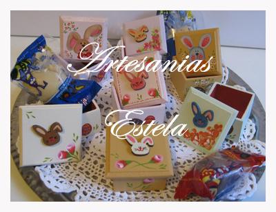 272   Cajas Artesanales Para Huevos De Pascuas y Bombones