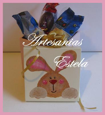 274   Cajas Artesanales Para Huevos De Pascuas y Bombones