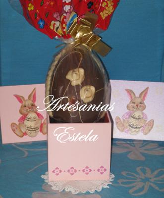 277   Cajas Artesanales Para Huevos De Pascuas y Bombones