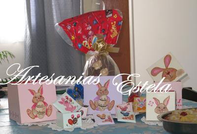 283   Cajas Artesanales Para Huevos De Pascuas y Bombones
