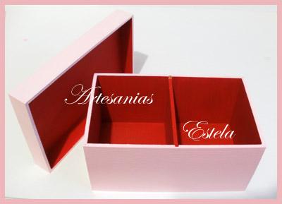 Cajas de te de 2 divisiones 1   Cajas De Té