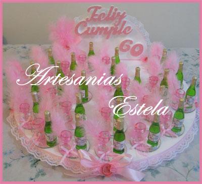 Maqueta y Souvenirs Cumpleaños de Adultos Botellitas Personalizadas   Souvenirs Para Cumpleaños Adultos