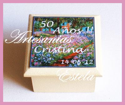 Souvenirs Cajitas Personalizadas