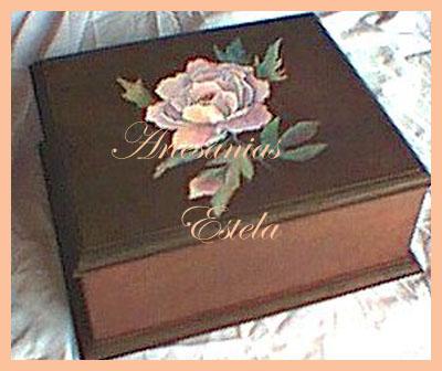 caja te 3   Cajas De Té