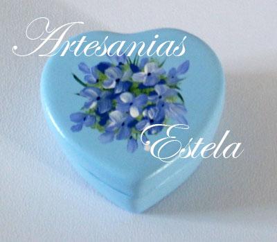 cajitas ceramica corazon 1   Souvenirs Para Cumpleaños Adultos