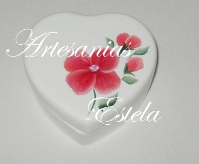 cajitas ceramica corazon 8   Souvenirs Para Cumpleaños Adultos