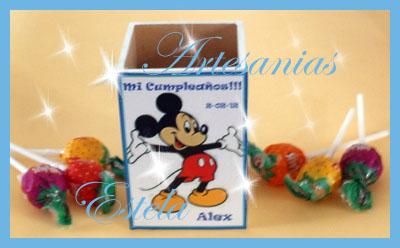 Lapiceros para souvenirs cumpleaños infantiles