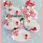 Adornos Para Tortas Porcelana