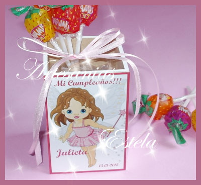 Lápiceros para souvenirs cumpleaños infantiles