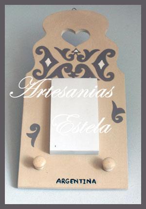 Anotador portallaves de madera para colgar decoración del hogar   Anotador Portallaves De Madera Para Colgar
