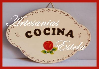 Carteles de madera para colgar decoraci n del hogar artesanias estela souvenirs bodas 15 - Carteles de cocina ...