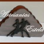 Servilletero De Madera Fibrofacil 150x150   Servilleteros De Madera