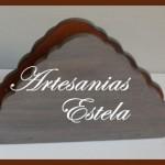 Servilleteros de Madera Fibrofacil Decoración Del Hogar 150x150   Servilleteros De Madera