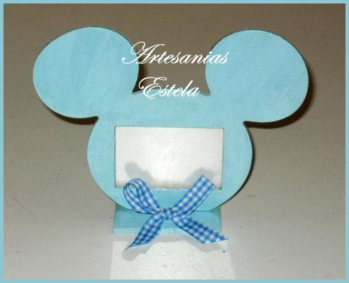 Souvenirs Portaretratos Mickey.