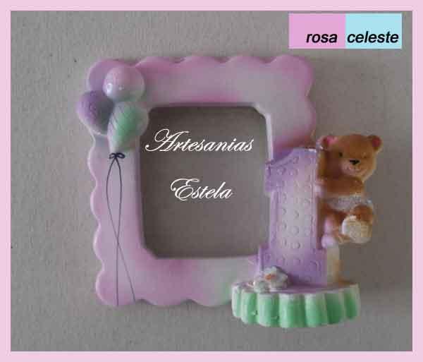 portaretrato 1 añito   Portaretratos Para Souvenirs Cumpleaños Infantiles