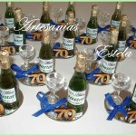 Botellitas De Champagne personalizadas 150x150   Souvenirs De Para Cumpleaños De Adultos Con Botellitas Personalizadas