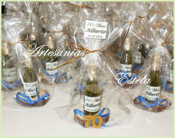 Mini Botellitas De Champagne Personalizadas