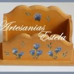 Organizador Para Escritorio Portatarjetas De Madera Fibrofacil 150x150   Regalos Para El Día De La Secretaria