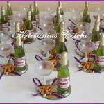 Souvenirs 70 Años1 150x150   Souvenirs De Para Cumpleaños De Adultos Con Botellitas Personalizadas