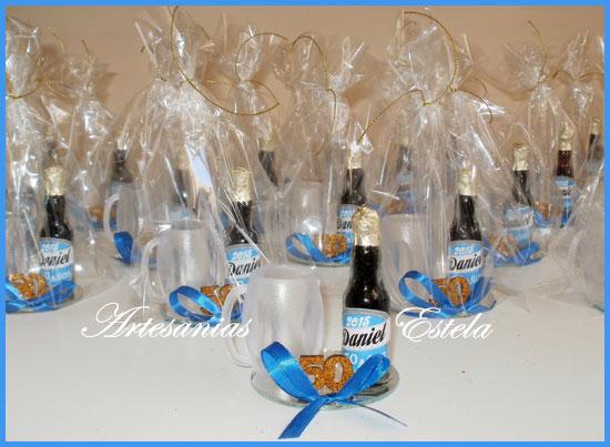 Souvenirs Botellitas De Cerveza Personalizadas a   Souvenirs De Para Cumpleaños De Adultos Con Botellitas Personalizadas