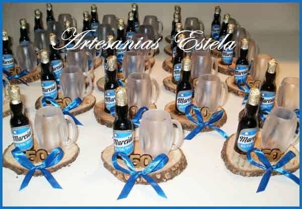 Souvenirs Botellitas De Cerveza Personalizadas