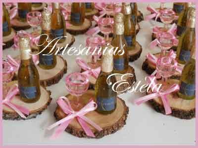 Souvenirs Botellitas De champagen Personalizadas   Souvenirs De Para Cumpleaños De Adultos Con Botellitas Personalizadas