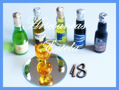 Souvenirs Para Cumpleaños De Adultos-Souvenirs Para-Cumpleaños de 18 Años---Botellitas Personalizadas