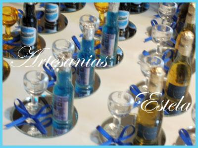Souvenirs con Botellitas Personalizas 1   Souvenirs Para Cumpleaños De 18 Años