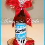 Botellitas Porron De Cerveza Personalizadas 150x150   Souvenirs Para Cumpleaños De 18 Años
