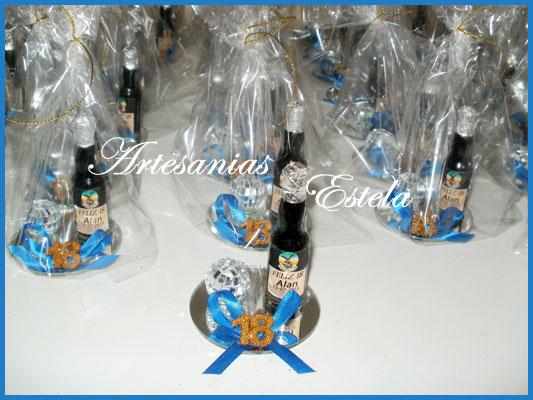 Souvenirs 18 Años Botellitas De Fernet Personalizadas   Souvenirs Para Cumpleaños De 18 Años