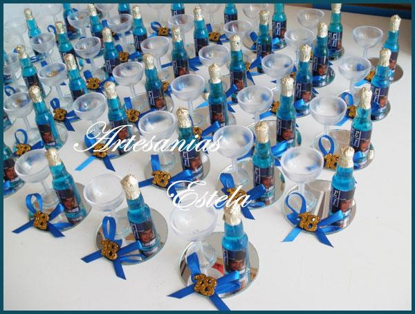 Souvenirs 18 Años Botellitas De Vino Frizze Personalizadas   Souvenirs Para Cumpleaños De 18 Años
