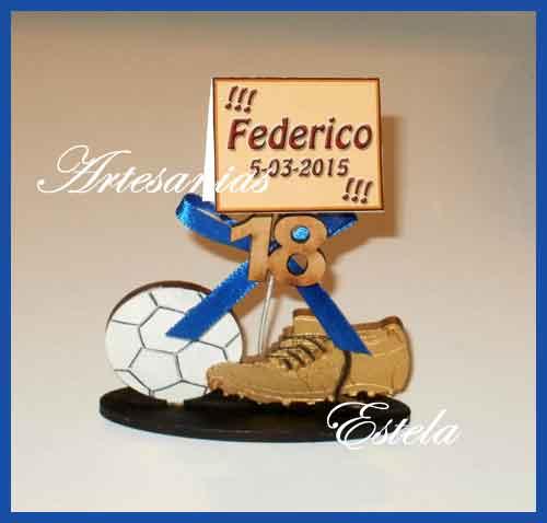 Souvenirs 18 Años Football 1   Souvenirs Para Cumpleaños De 18 Años