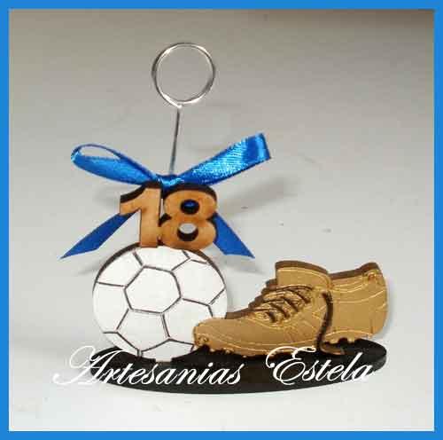 Souvenirs 18 Años Football   Souvenirs Para Cumpleaños De 18 Años