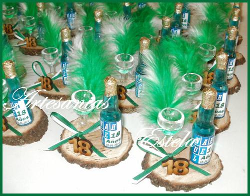 Souvenirs botellitas personalizadas 18 años   Souvenirs Para Cumpleaños De 18 Años