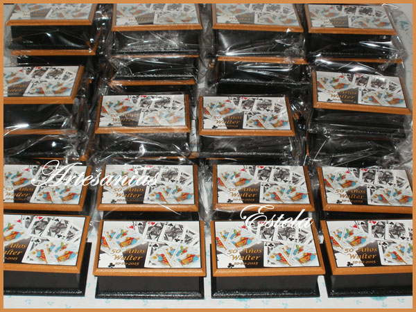 Souvenirs Cajas Para Naipes