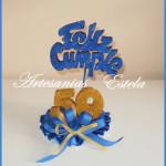 Adornos Para Tortas 50 Años 150x150   Souvenirs Y Maquetas Para Cumpleaños De 50 Años