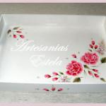 Bandejas Pintadas Con Flores 150x150   Bandejas De Madera Fibrofacil Pintadas y Decoradas